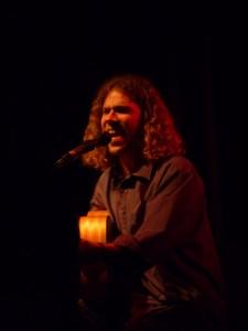 Rikku Latti performing during the 2010 KKNK in Oudtshoorn