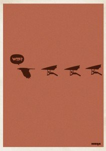 WTF? print from Estudio Minga