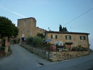 The village of San Donato in Tuscany... Sleepy, beautiful, cold in Autumn!