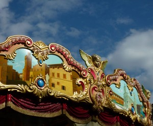 This old merry-go-round in Florence was magical...