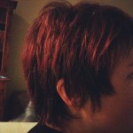 Day 7: hair. I wasn't sure about the pixie cut when I got it, and I'm still not sure if it really works for me. This was post-Muay Thai, all sweaty and unstyled.