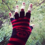 A cold spell hit Jozi early. Enough reason to dig up my scruffy punky fingerless gloves.