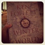 I read all the time, chronically. I'd just finished Lauren Beukes' The Shining Girls, and decided to start on Ken Follett's Winter of the World