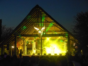 The James Philips stage at Oppikoppi